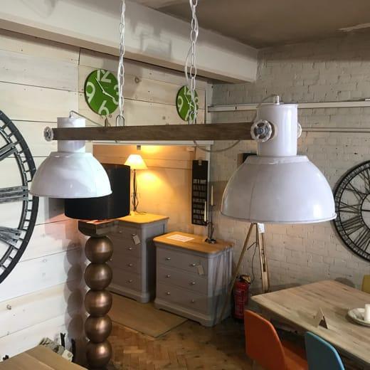 Elay-Double Hanging Lamp