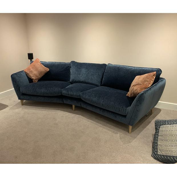 Kay Curved Sofa