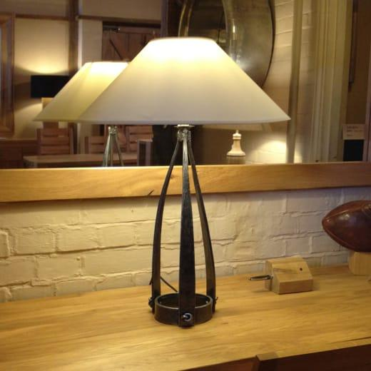 Large Jacobean Lamp