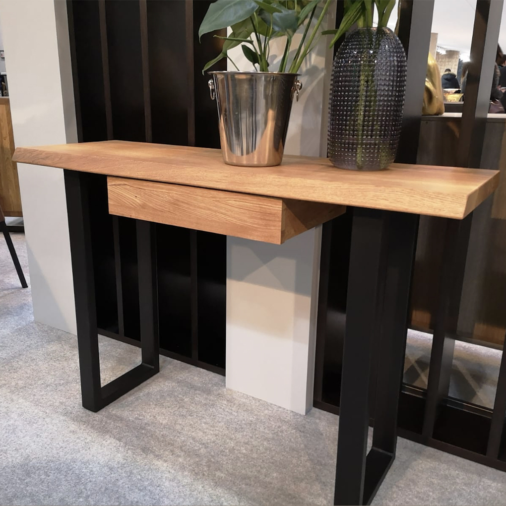 Wells Console Table with Drawer